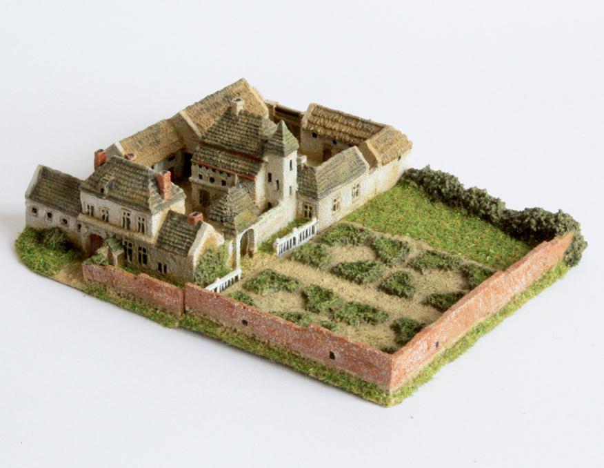 Scale Waterloo Paper Buildings