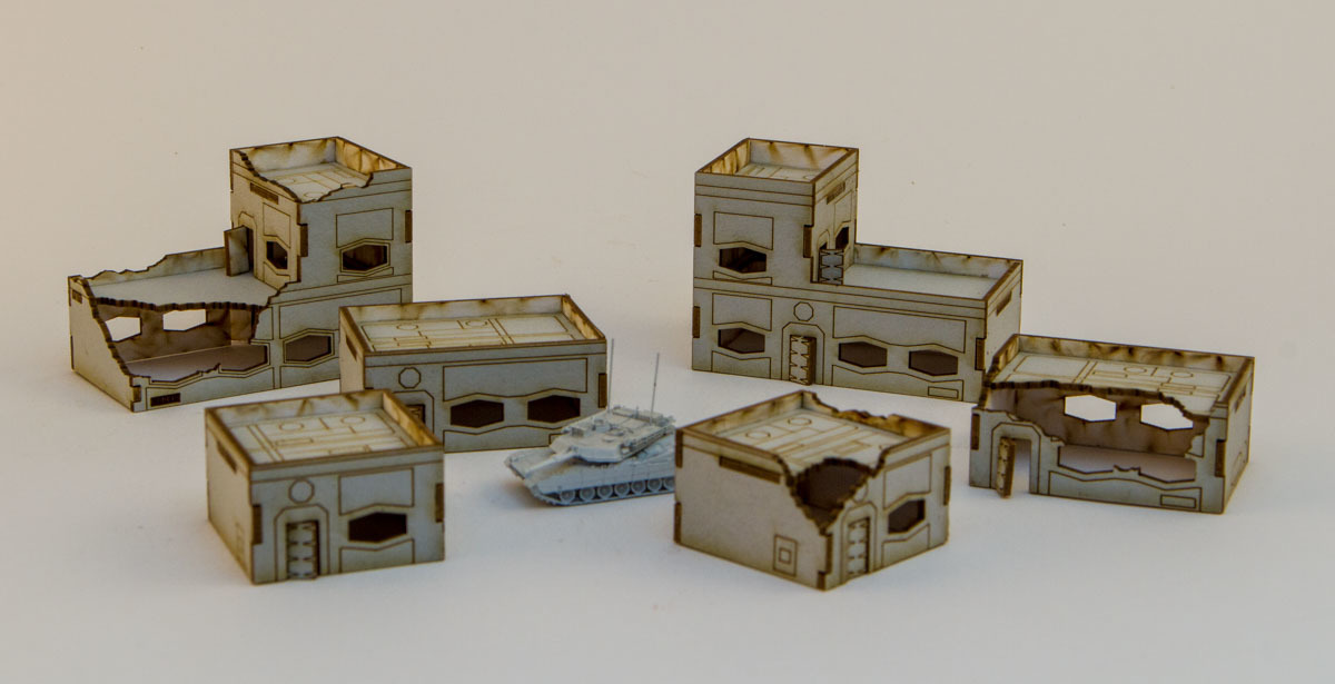 New Sci Fi Buildings Available The Wargames Website