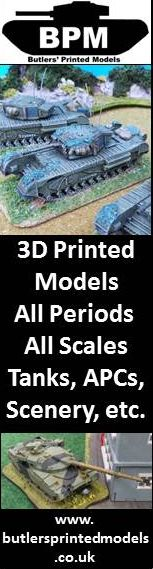 3D printed wargame models - ALL SCALES!