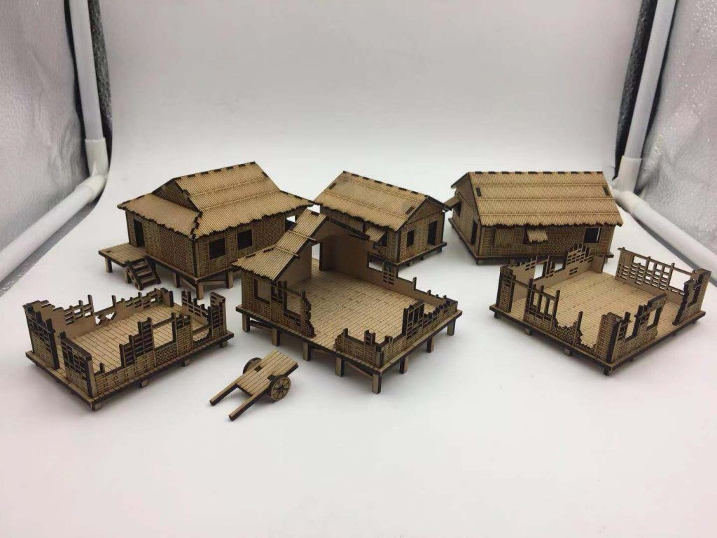 New 15mm Vietnam War Houses The Wargames Website