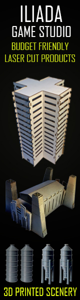 Budget friendly laser cut buildings!
