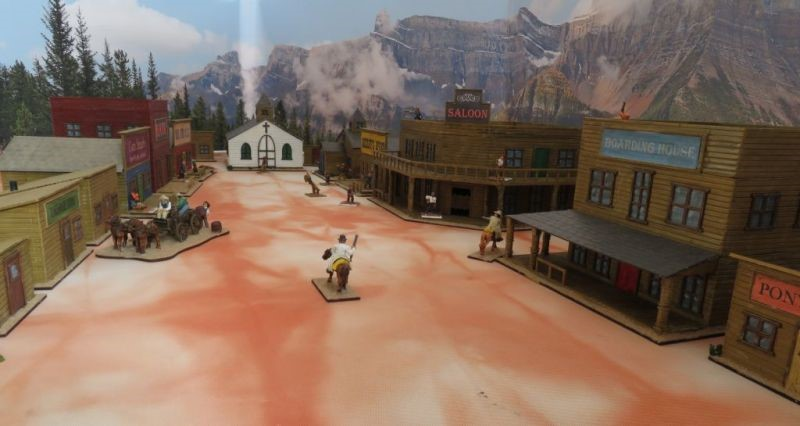 28mm Wild West Buildings | The Wargames Website