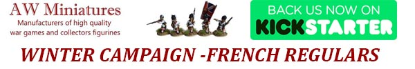 NEW 28mm FRENCH & INDIAN WAR KICKSTARTER