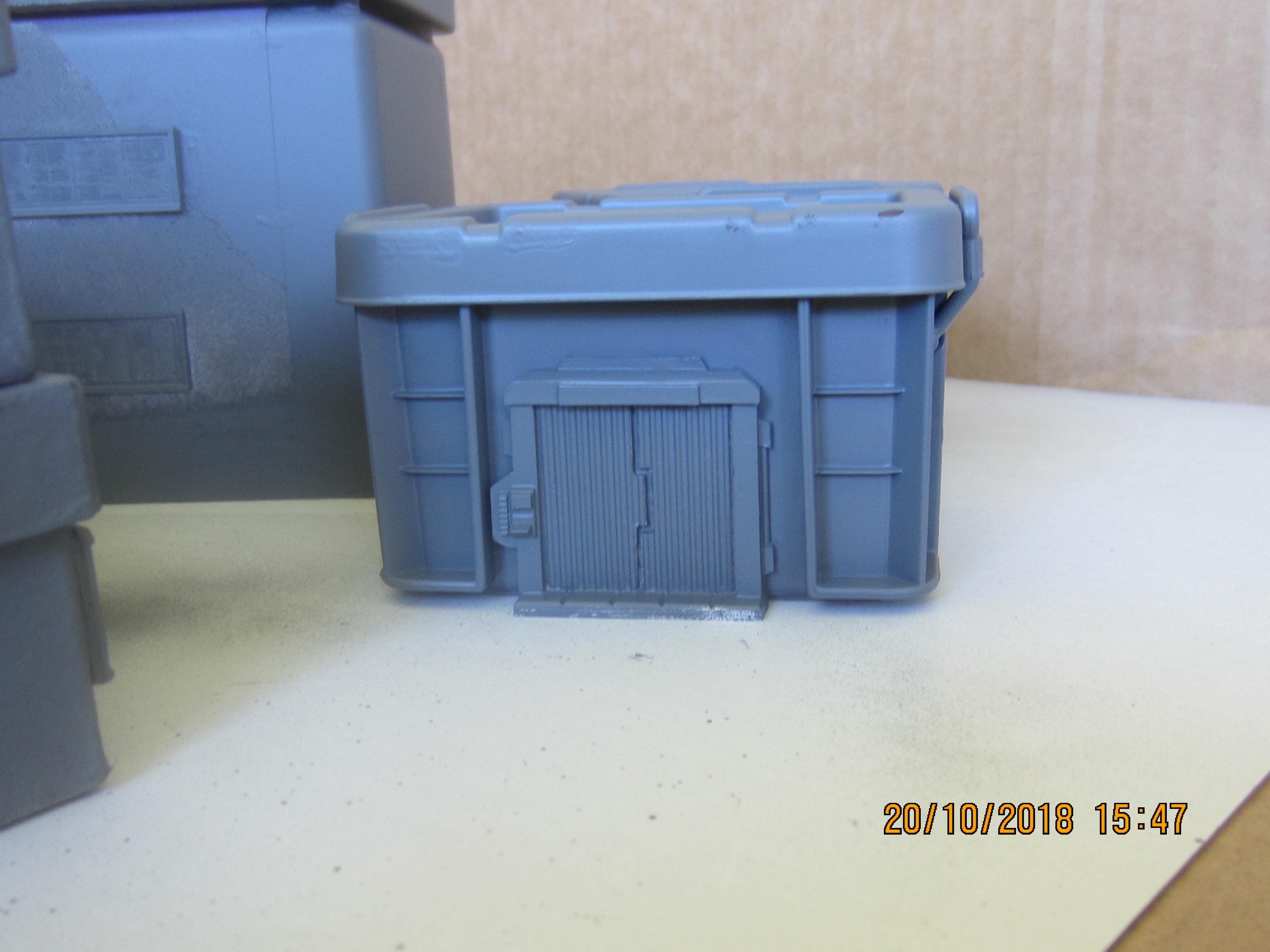 Grey Storage Box