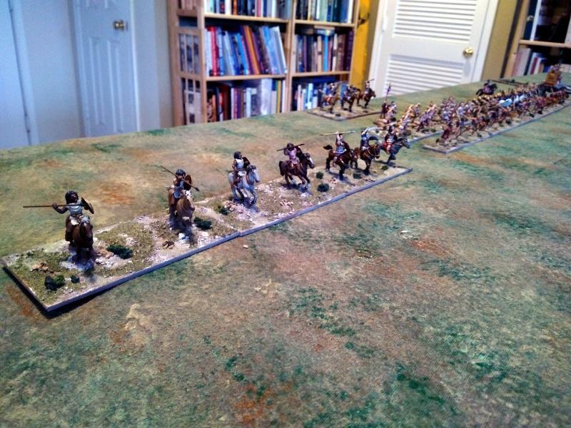Libyan and Carthaginian cavalry.