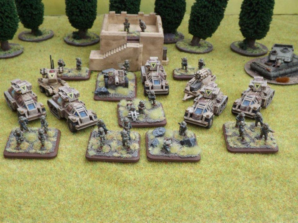 Wolverines Infantry Platoon