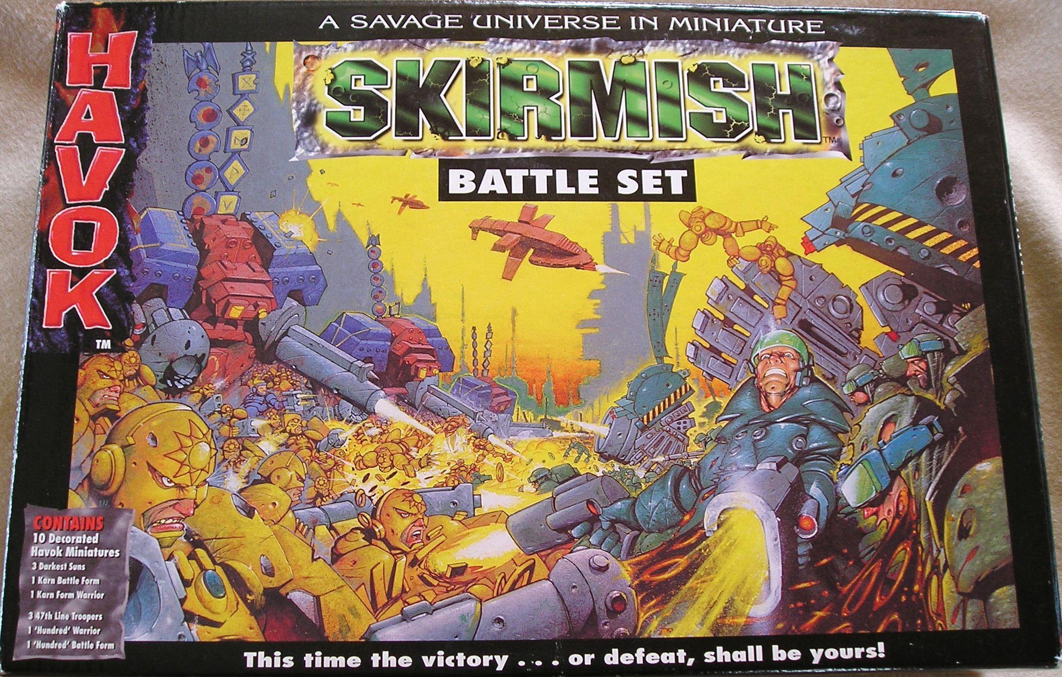 Havok Skirmish front cover