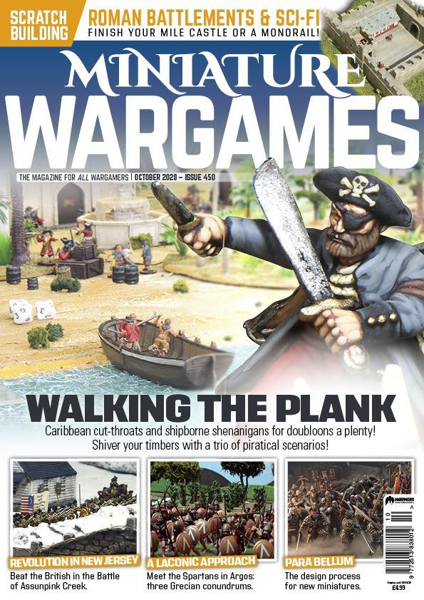 Miniature Wargames 450 -  Tabletop Gaming
