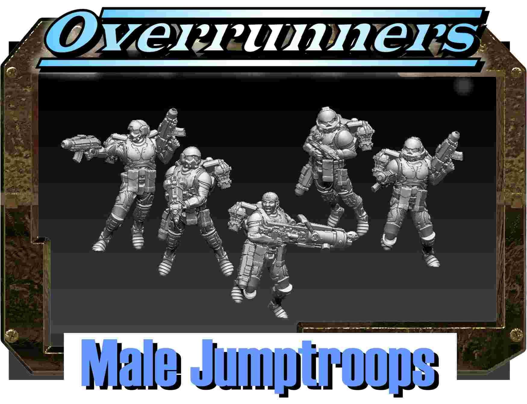 Overrunners male jumptroops - one of the many filesets available