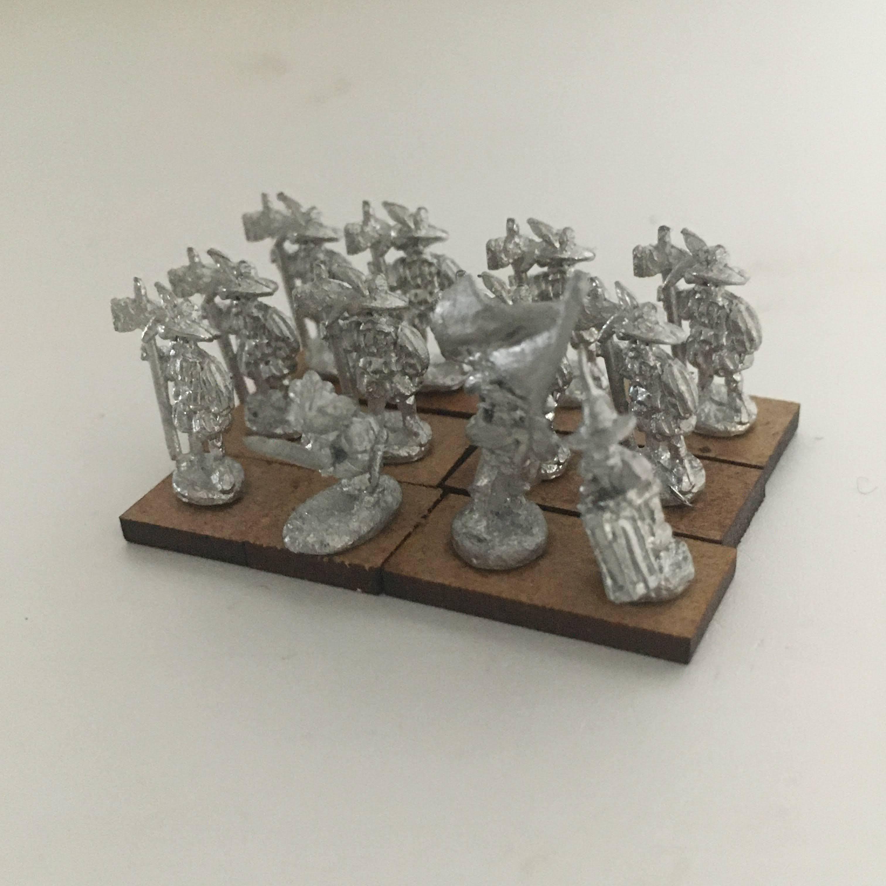 unit of 12 Halberdiers