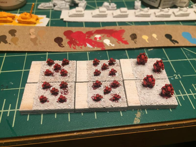 Topic: Word Bearers (3mm Epic Armageddon Proxies)