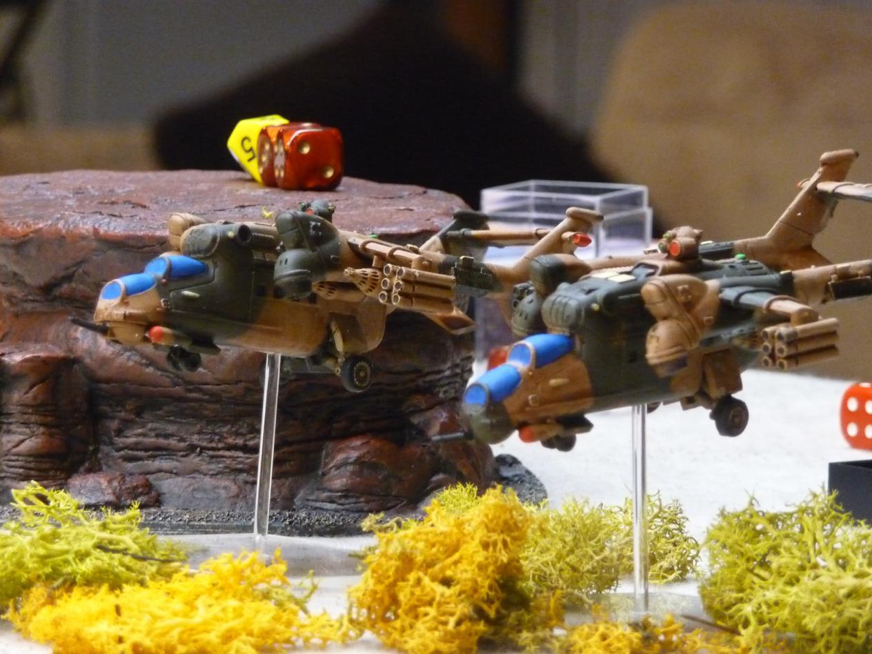 Harpy VTOL gunships