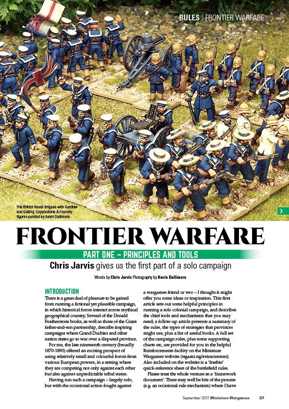 Topic: Miniature Wargames 413
