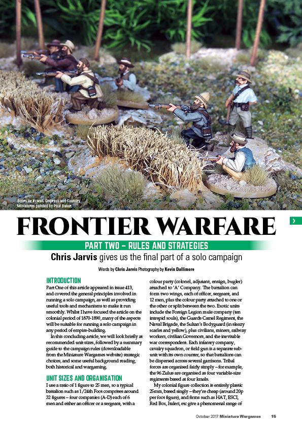 Colonial Frontier
