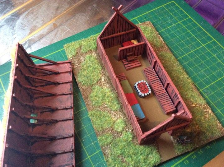 187 Topic Viking Longhouse
