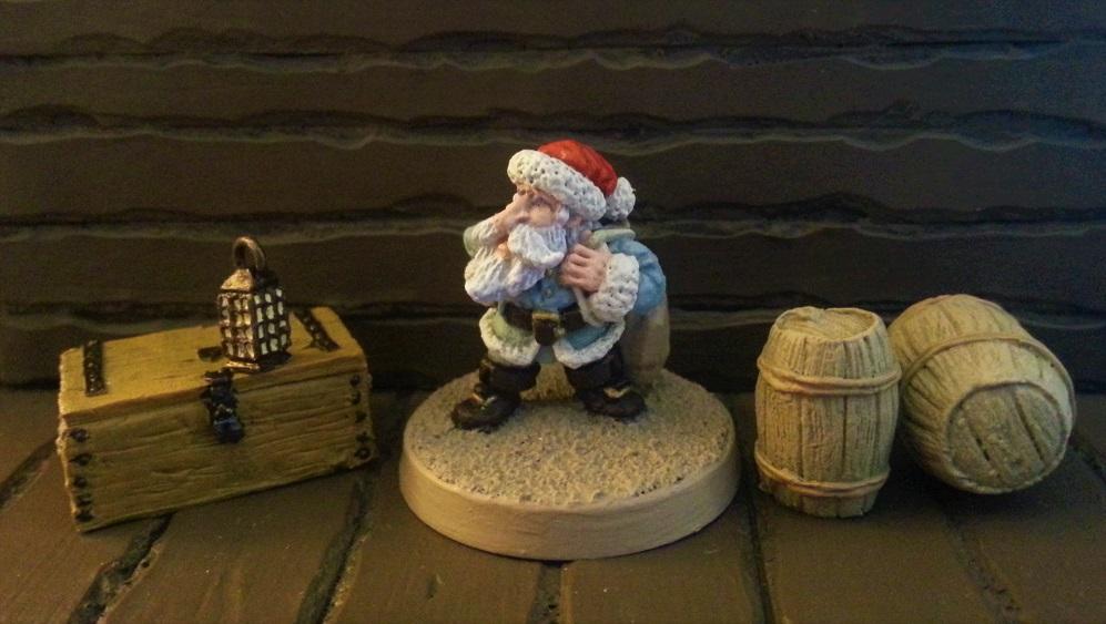Yule Gnome (RPE Dwarf Santa)