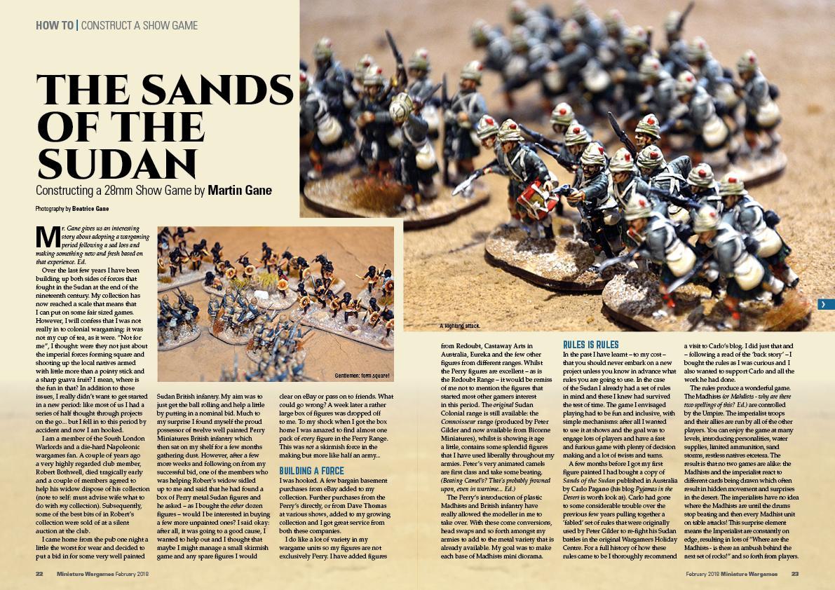 Topic: Miniature Wargames 418