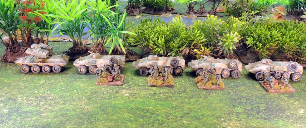Clarks Commandos Infantry combat vehicles