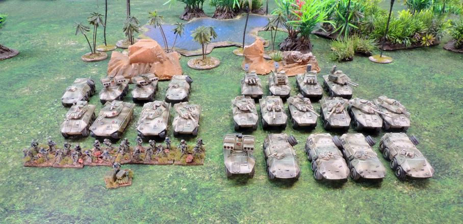 Clarks Commandos Three detachments