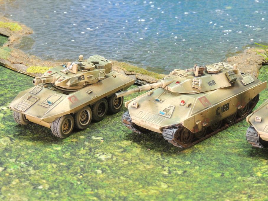 Clarks Commandos heavy assault Python and Cobra