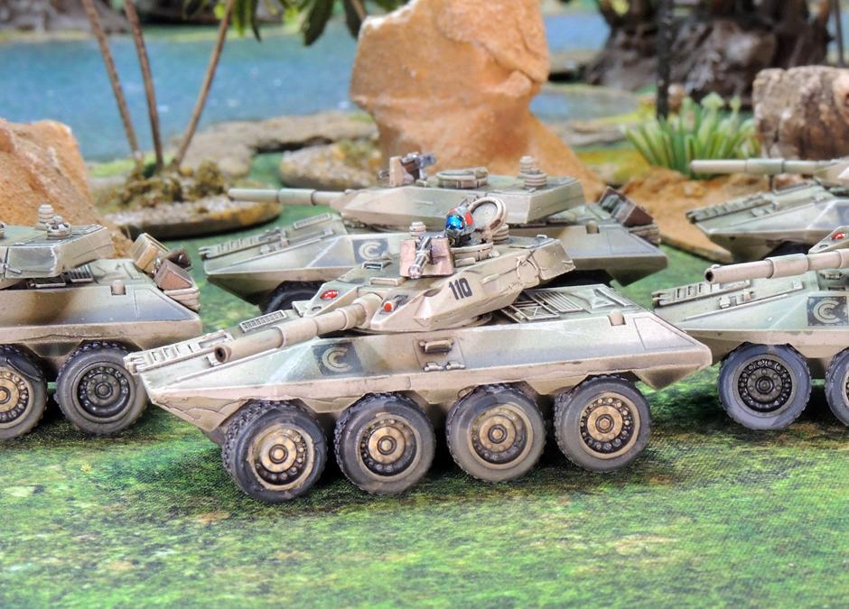 Clarks Commandos command tank