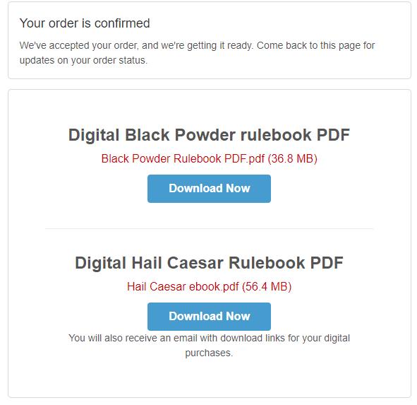 Topic: Free rules PDF's at Warlord!
